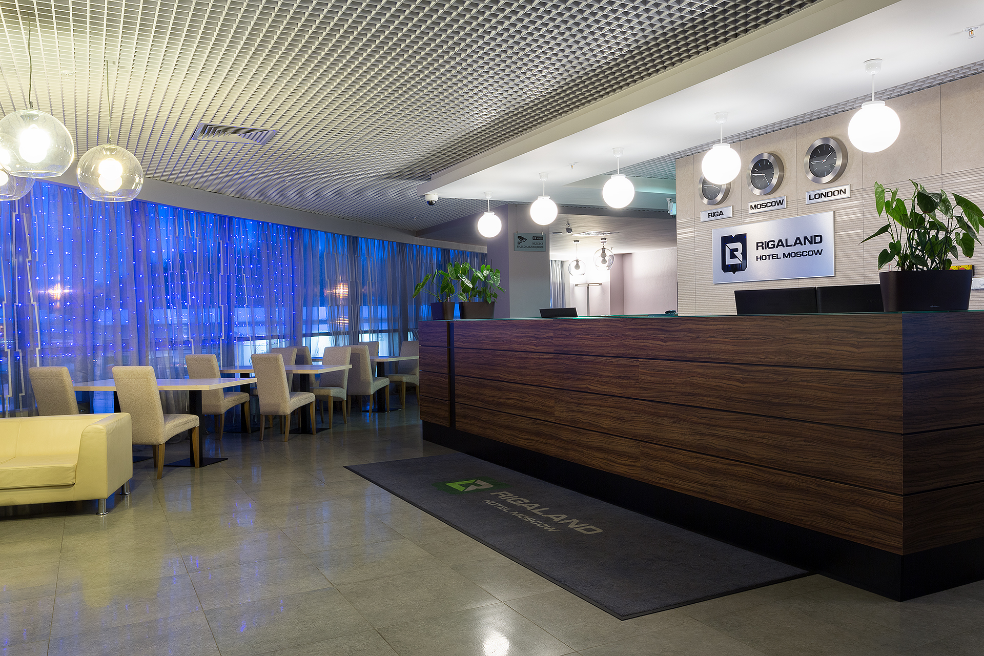 Гостиница европейского уровня «Рига Ленд» в Красногорском районе неподалеку от «Крокус ЭКСПО»